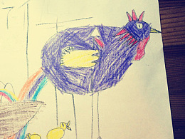 儿子画的比我好