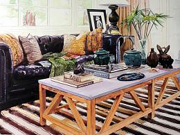 Malibu #室內設計與空間表達 #小場景慢表