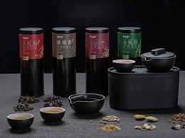 泊喜TEA+私家茶質感包裝設計