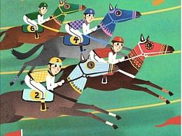 基金商业插画gif海报