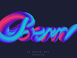 AI混合艺术