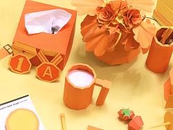手工纸模动画-文化收藏