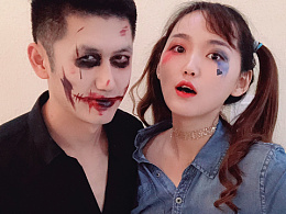 cos play小丑女and小丑🤡