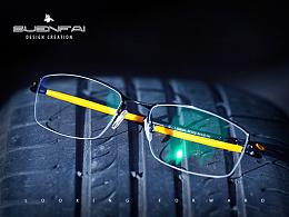 淘宝天猫主图设计运动款眼镜户外场景图拍摄修图后期