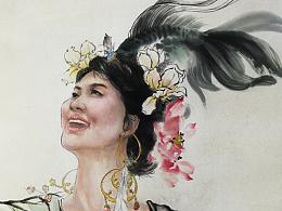 周天才小课堂4(国画)——入春解作千般语,拂曙能先百鸟啼。