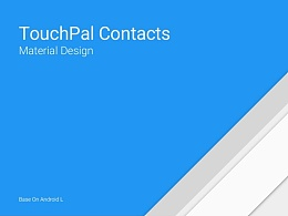 TouchPal Contacts界面设计