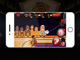 疯狂篮球H5