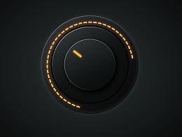 音量按钮图标临摹