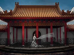 [中国古风 庄重之美]中国古风婚纱作品 (wppi获奖)