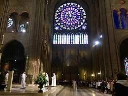 巴黎,巴黎,圣母院的弥撒