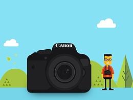 场景-卡通小相机