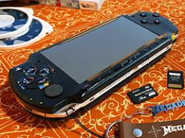 PSP古董机一枚...