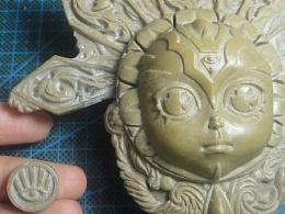太阳守护精灵雕像