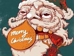 大家圣诞快乐啊~每个欢乐得圣诞老公公身边总有个被SM的小鹿