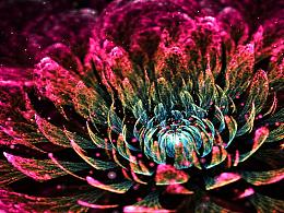 分形练习--烈焰的花
