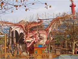 大连3D壁画-恐龙世界大型3D画,中国最大的3D墙画