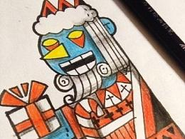 近期的纹身手稿