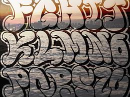 涂鸦字母表