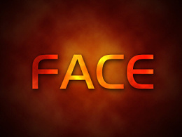 face金属效果