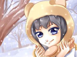 『℃』小熊帽才是萌点啊喂!