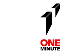 一分钟影像大赛标志设计。旧作