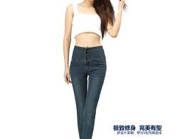 牛仔裤详情页制作 描述设计