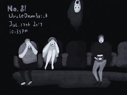 一组小黑暗