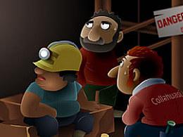 鼹鼠乐乐勇救智利矿工