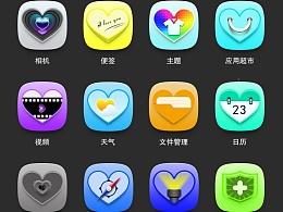 手机图标——七彩心情