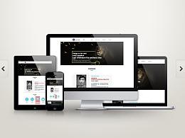 设计师个人网站上线