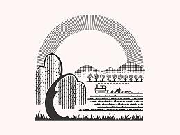 民国风插画
