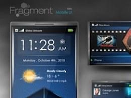 概念手机UI设计-碎片