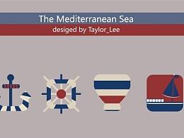 海洋系列图标