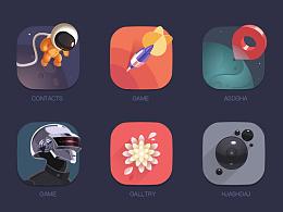 GUI 主题 icon 图标 魅族 小清新风格 素材下载