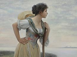古典油画临摹