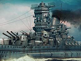 大和号(Yamato)战列舰