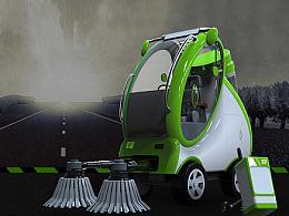 便捷小型清洁车设计