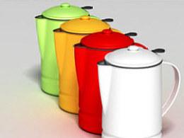怀旧咖啡壶设计项目