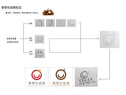 坚果标志  休闲标志设计 logo设计 创意 logo
