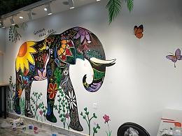 金玺泰茶的大象