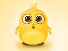 临摹——毛茸茸的的小鸟