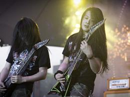 2014年5月海淀公园音乐节MetalDay现场照片