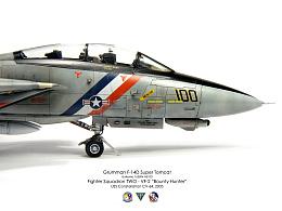 1/72 美國海軍 F-14D VF-2 賞金獵貓