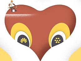 《二十一世纪商业评论》猴年特刊插画设计