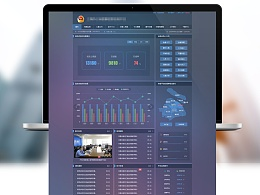 门户网站-某公安系统图侦应用平台-半透明效果