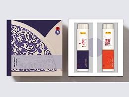 寿喜面礼盒包装设计