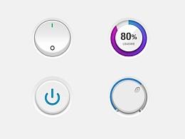 【每天一个icon】05_xueui_button