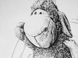 钢笔画13(羊仔生活秀)