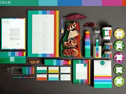 沙拉鲜森品牌视觉设计