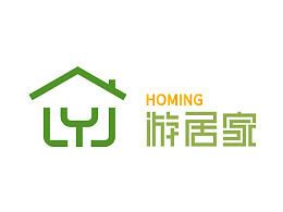 游居家Logo设计。